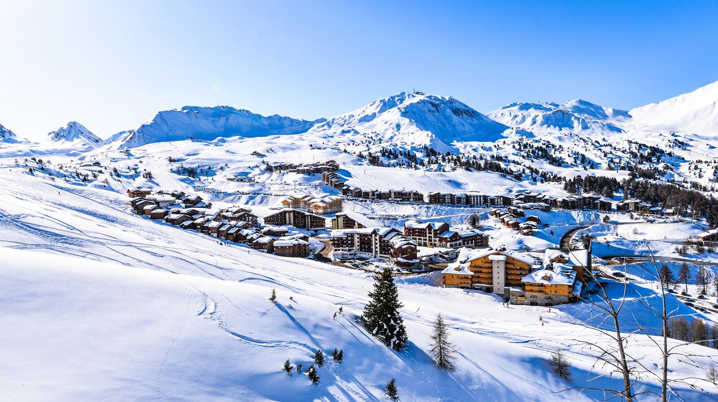 Les melleures stations de ski des Alpes